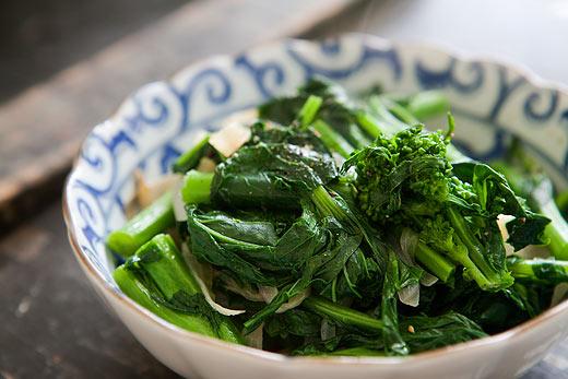 Broccoli Rabe with Caramelized Onions | growalabama